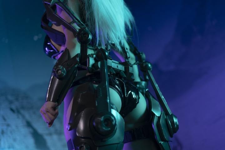 Black Swimsuit Black Bikini Cyberpunk 2021 Cosplay005