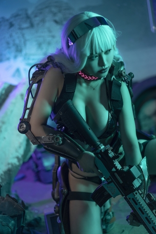 Black Swimsuit Black Bikini Cyberpunk 2021 Cosplay013