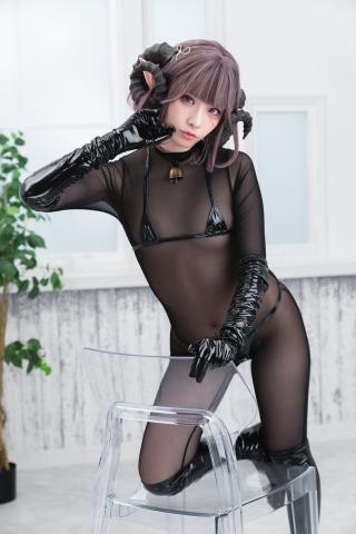 tights micro black swimsuit bikini047