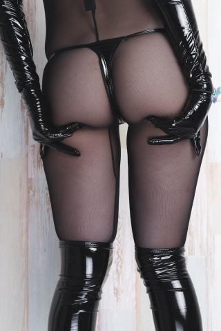 tights micro black swimsuit bikini069