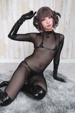 tights micro black swimsuit bikini085