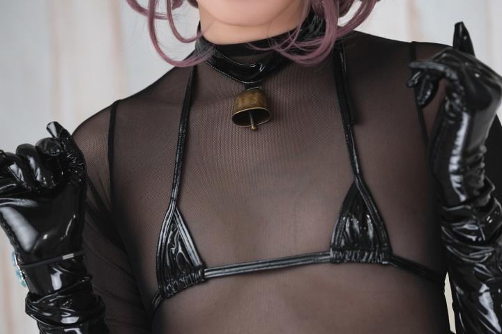 tights micro black swimsuit bikini088