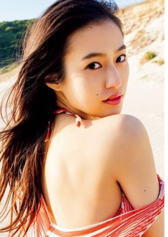 Yuri Tsunematsu swimsuit gravure Young hotshot actress003
