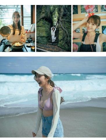 Yuka Suzuki in a fresh swimsuit002