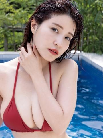 Asuka Kishi Premium swimsuit bikini gravure001
