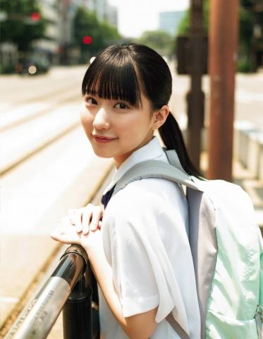 HKT48 Miku Tanaka Swimsuit Gravure Liberation006