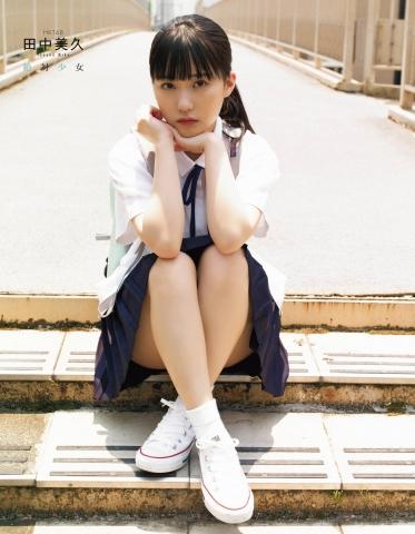 HKT48 Miku Tanaka Swimsuit Gravure Liberation007