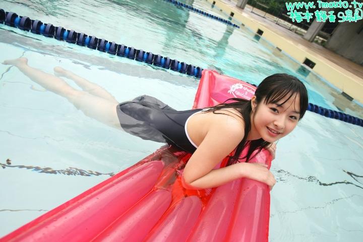 Shizuka Umemoto School Swimsuit Speedo Speedo Pool027