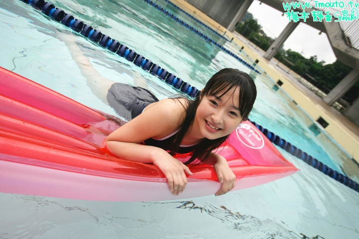 Shizuka Umemoto School Swimsuit Speedo Speedo Pool028