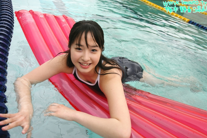 Shizuka Umemoto School Swimsuit Speedo Speedo Pool038