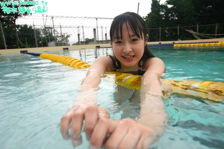 Shizuka Umemoto School Swimsuit Speedo Speedo Pool045