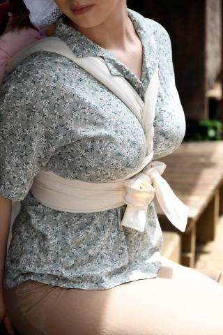 having a big breasts at home001