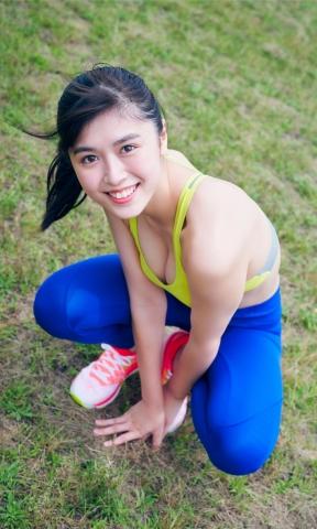 Asuka Hanamura Tamayo Kitamukai Summer Running Youth013