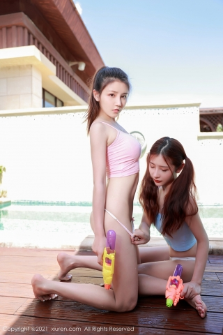 A beautiful swimsuit girl enjoying her vacation in Thailand024