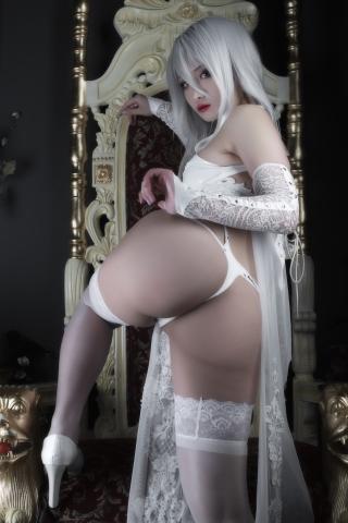 Nia Automata No2 White Miyan Chinese Dress039