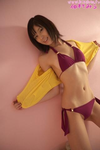 Miu Nakamura Purple Swimsuit Bikini Gravure Bet018