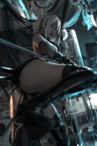 2B Ninja NieR_Automata 007