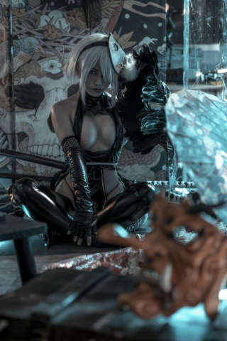2B Ninja NieR_Automata 023