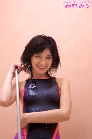 Miu Nakamura Swimming Race Swimsuit Image Arena arena005