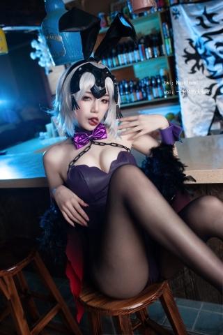 Jeanne Alter Black bunny girl Black bunny girl003