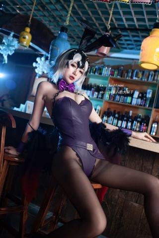 Jeanne Alter Black bunny girl Black bunny girl004
