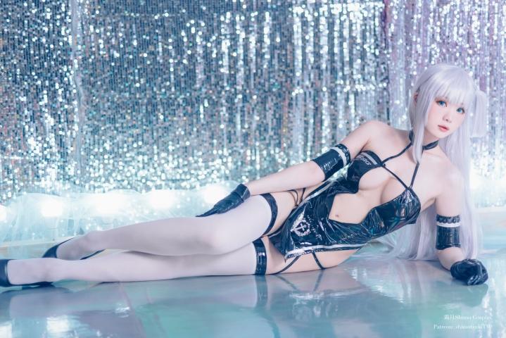 Azuma Azur Lane Black Transformation Swimsuit008