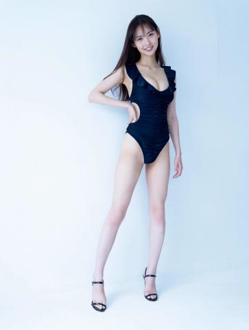 Anon a promising new star in the world of gravure Bikini swimwear009