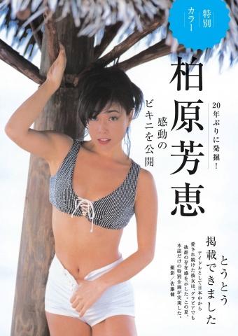Yoshie Kashiwabara shows off her impressive bikini001