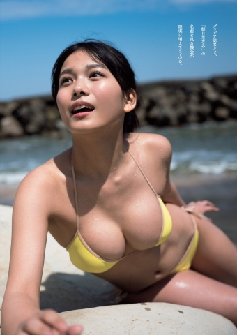 Nanami Asahi I want to see her smile again and again this summer003