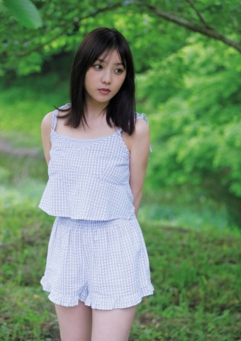 Yuki Yoda the natural beauty of Nogizaka46 spent a relaxing A day in summer003