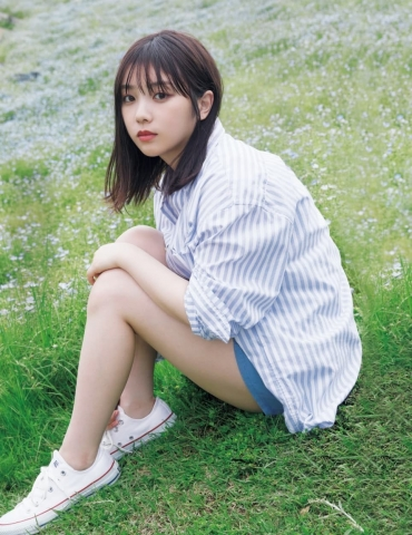 Yuki Yoda the natural beauty of Nogizaka46 spent a relaxing A day in summer009