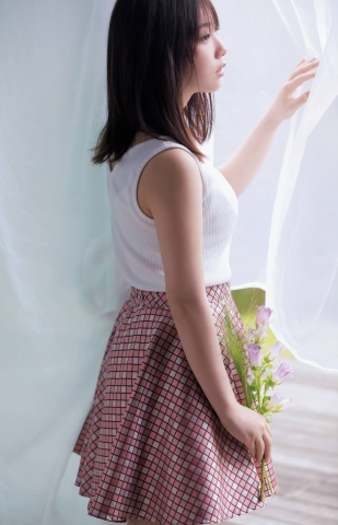 Yuki Yoda the natural beauty of Nogizaka46 spent a relaxing A day in summer006