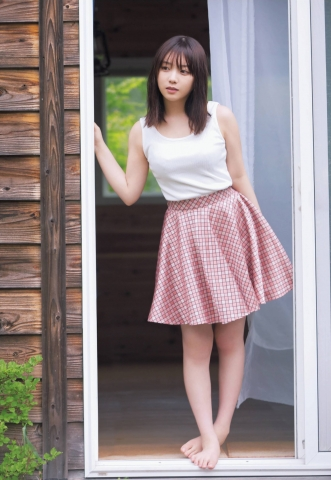 Yuki Yoda the natural beauty of Nogizaka46 spent a relaxing A day in summer007