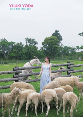 Yuki Yoda the natural beauty of Nogizaka46 spent a relaxing A day in summer008