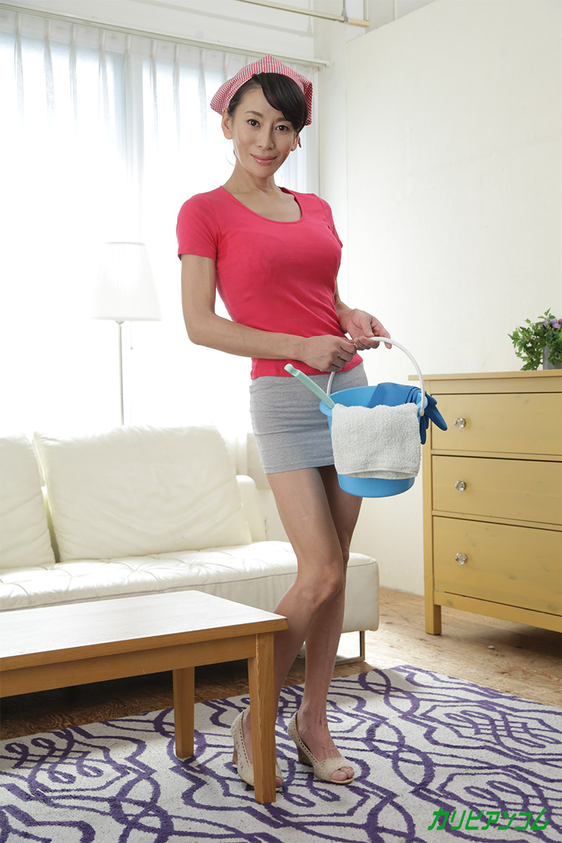 美人家政婦のオマタ大掃除大作戦
