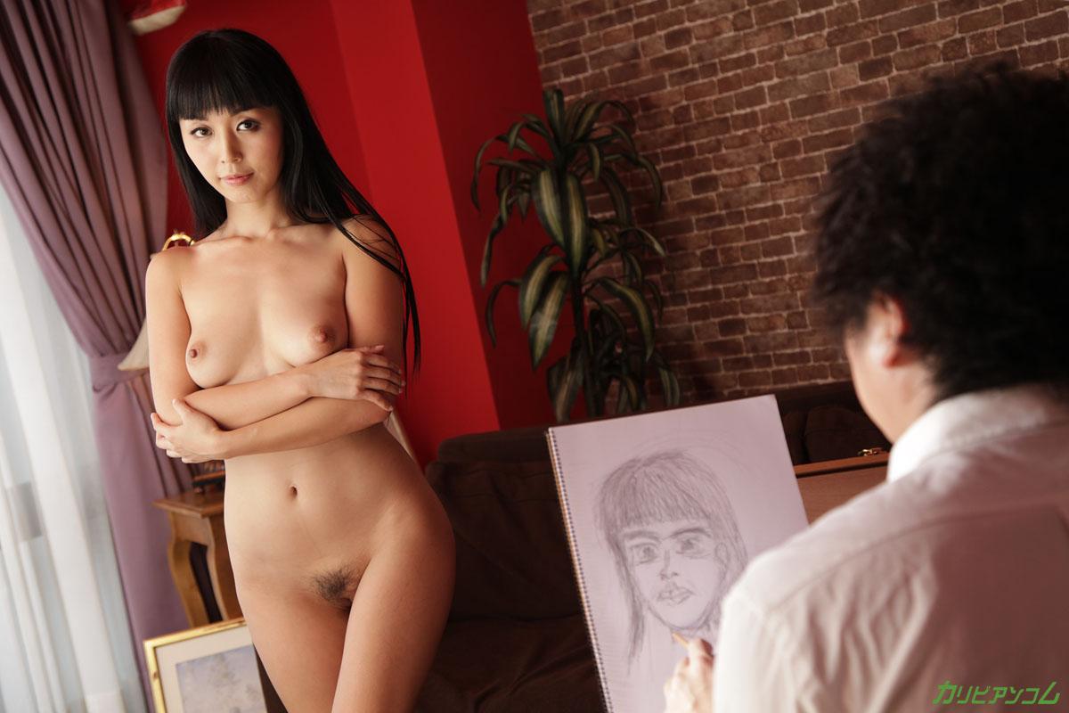 まりかをモデルに絵をカキたい ~画家とまりかのプライベートセックス~