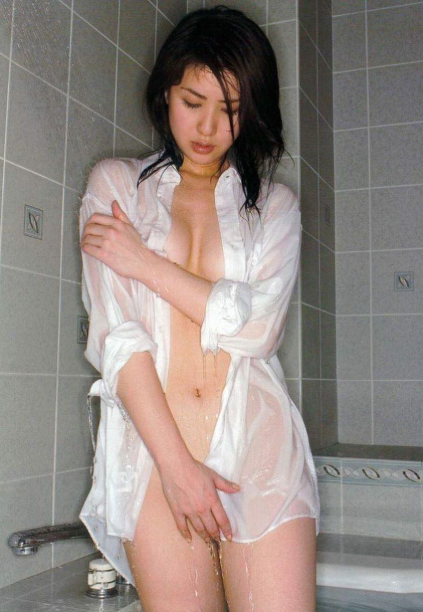 白シャツ女子 62