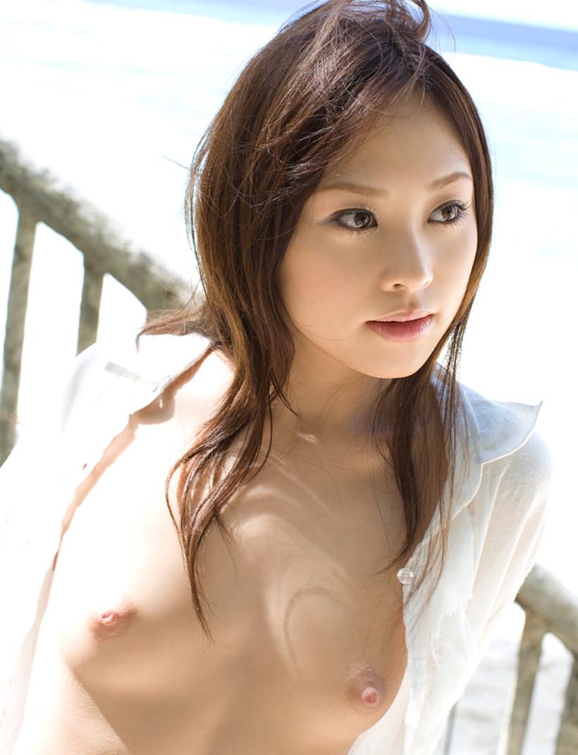 白シャツ女子 53