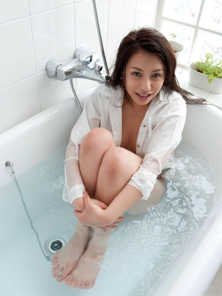 白シャツ女子 23