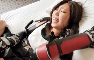 【こすっち】FFのティファに成りきったアニコス現役JDの中出し孕まSEX【加賀美さら】#9