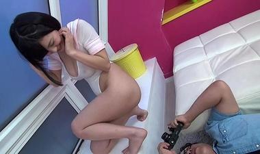 【性処理玩具Mペット輪姦撮影会】Hカップ美巨乳アイドルの10P大乱交【松岡ちな】#9