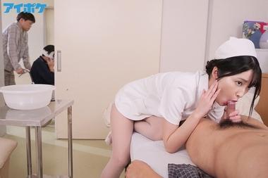 ナースコールで口内射精OKの即尺おしゃぶり痴女ナース【藤井いよな】#3