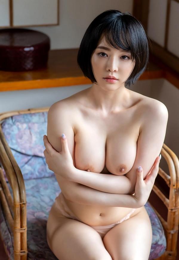 三宮つばき スレンダー美巨乳な超ドM美女画像37枚のa17枚目