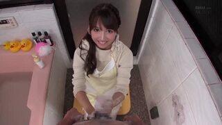 巨乳のアイドル美少女、三上悠亜のフェラセックス主観無料エロ動画。【ハメ撮り、手コキ動画】