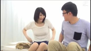 【童貞】巨乳の人妻素人の、不倫中出しモニタリングプレイがエロい!!いい乳してます!