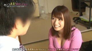 爆乳のお姉さん、尾上若葉のフェラプレイがエロい!!エロい乳してます!【エロ動画】