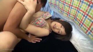 美人スレンダーな水着姿の素人奥様の、寝取られsex中出し無料H動画。【不倫動画】
