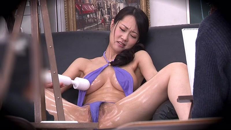 教室にて、巨乳で水着姿のお姉さんモデルの、輪姦フェラ電マ無料エロ動画!【羞恥動画】
