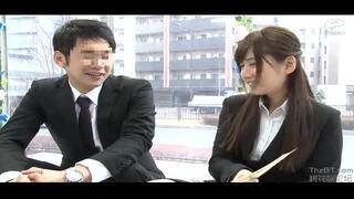 【OL】美人なOL素人の、手コキ中出しフェラプレイエロ動画!【エロ動画】