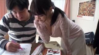 【家庭教師】美人な巨乳の女子大生、浜崎真緒の中出しレイプのぞき無料エロ動画!【浜崎真緒動画】